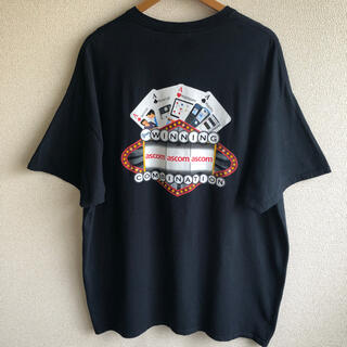 GILDAN - ギルダン ASCOM プリント Tシャツ GILDAN