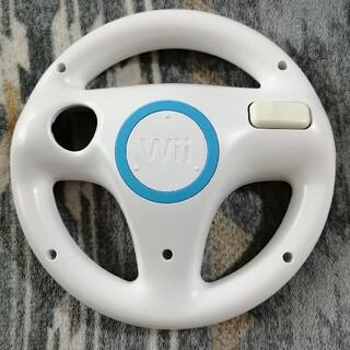 ウィー(Wii)の【即購入OK(^-^)】マリオカートWii ハンドル(家庭用ゲームソフト)