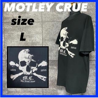 MOTLEY CRUE モトリークルー Est 1981-2015 Tシャツ(Tシャツ/カットソー(半袖/袖なし))
