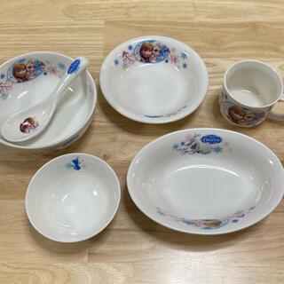 アナと雪の女王 - Disney   アナと雪の女王 子供用陶器6点セット