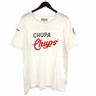 ハイドロゲン(HYDROGEN)のハイドロゲン HYDROGEN ロゴ Tシャツ 半袖 ホワイト XXL(Tシャツ/カットソー(半袖/袖なし))