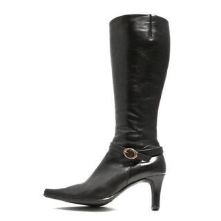 ダイアナ(DIANA)のダイアナ ロングブーツ 24 レディース - 黒(ブーツ)