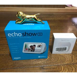 エコー(ECHO)のAmazon Echo Show 5 スマートディスプレイ サンドストーン(スピーカー)