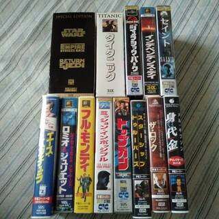 VHS ビデオ洋画15本セット(外国映画)