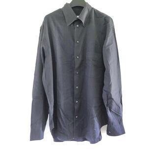 アルマーニ コレツィオーニ(ARMANI COLLEZIONI)のアルマーニコレッツォーニ 長袖シャツ - 黒(シャツ)