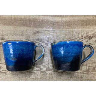 TULLY'S COFFEE - タリーズコーヒー 初期 信楽焼マグカップ2個セット
