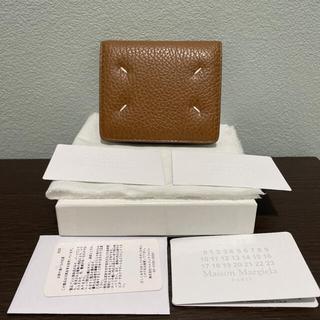 マルタンマルジェラ(Maison Martin Margiela)のメゾンマルジェラ 二つ折り財布 新品未使用(財布)