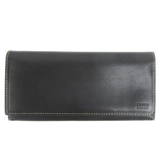タケオキクチ(TAKEO KIKUCHI)のタケオキクチ 長財布 二つ折り ロングウォレット レザー ブラック(長財布)