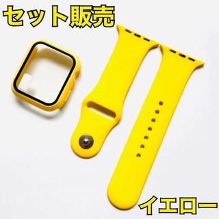 Apple Watch - イエロー 40mm Applewatch バンド アップルウォッチ ベルト 黄色