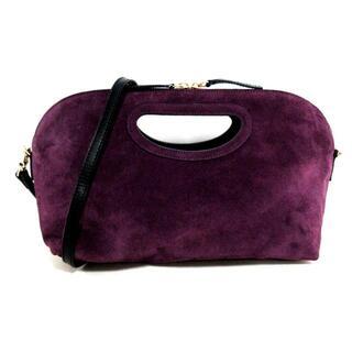 ペリーコ(PELLICO)のペリーコ ハンドバッグ - 黒×パープル(ハンドバッグ)