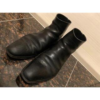 LOUIS VUITTON - 【ラスト!】ルイヴィトン 革靴 ショートブーツ ビジネス 26cm