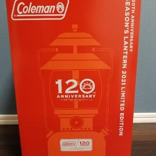 コールマン(Coleman)のコールマン 120th アニバーサリーシーズンズランタン 2021(ライト/ランタン)