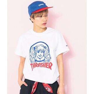 エイミーインザバッティーガール(Aymmy in the batty girls)のTHRASHER AYMMY CHAPTER トリプルコラボTシャツ(Tシャツ(半袖/袖なし))