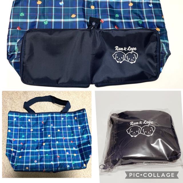 familiar(ファミリア)のランアンドラブ ファミリア 保冷バック 折りたたみ  レディースのバッグ(エコバッグ)の商品写真