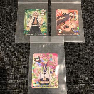 鬼滅の刃 ステッカー キラキラシール 人気キャラクター 3枚セット(キャラクターグッズ)