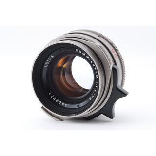 ライカ(LEICA)のLEICA SUMMILUX-M 35mm F1.4 チタン 整備済 #4313(レンズ(単焦点))