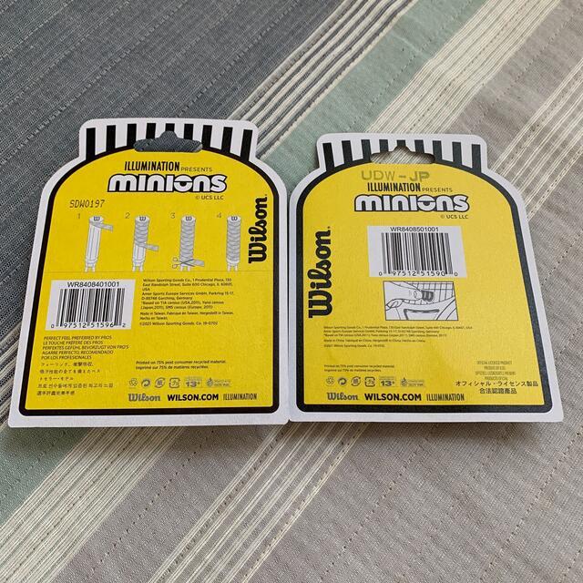 wilson(ウィルソン)のウィルソン×ミニオン テニスアクセサリー スポーツ/アウトドアのテニス(その他)の商品写真