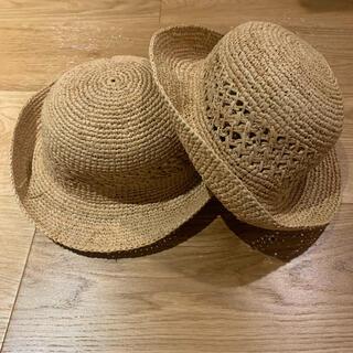 ムジルシリョウヒン(MUJI (無印良品))の無印 子供用 麦わら帽子(帽子)