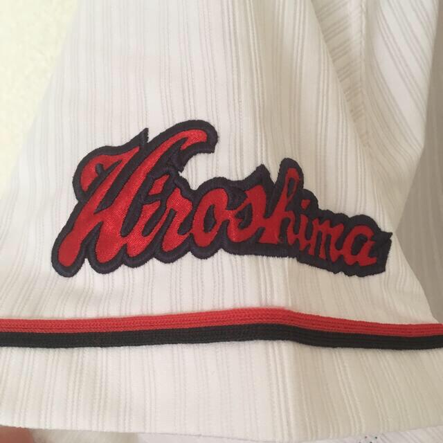 広島東洋カープ(ヒロシマトウヨウカープ)の広島東洋カープ ユニフォーム 前田智徳さん Lサイズ スポーツ/アウトドアの野球(応援グッズ)の商品写真
