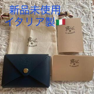 IL BISONTE - イタリア製⭐️イルビゾンテ 名刺入 カードケース コインケース