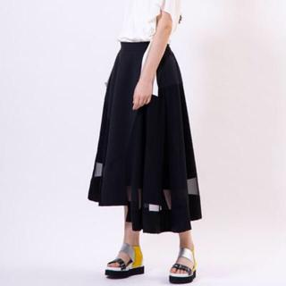 エンフォルド(ENFOLD)のUN-SOPHIE アシメチュールスカート☆フレアスカート (ロングスカート)