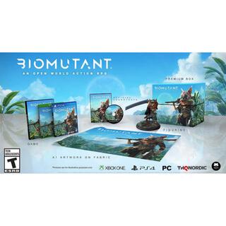 プレイステーション4(PlayStation4)の新品未開封 バイオミュータント コレクターズエディション Biomutant(家庭用ゲームソフト)