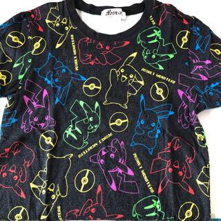 ポケモン(ポケモン)のポケモン 総柄Tシャツ 130cm❣️(Tシャツ/カットソー)