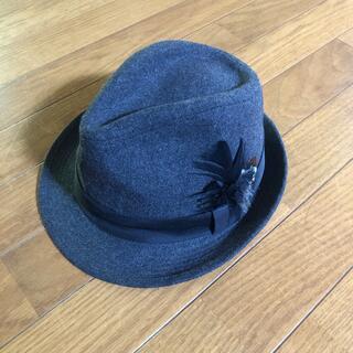 ジーユー(GU)のGU 中折れフェルトハット帽 (ハット)