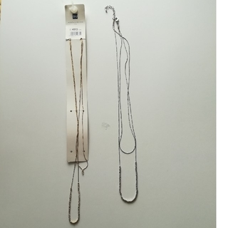ジーユー(GU)のメタルチェーンネックレス(ネックレス)