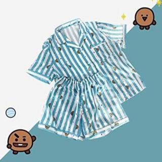 ボウダンショウネンダン(防弾少年団(BTS))のBT21 SHOOKY パジャマ 半袖 半ズボン Mサイズ BTS SUGA(パジャマ)