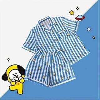 ボウダンショウネンダン(防弾少年団(BTS))のBT21 CHIMMY パジャマ 半袖 半ズボン Mサイズ BTS JIMIN(パジャマ)