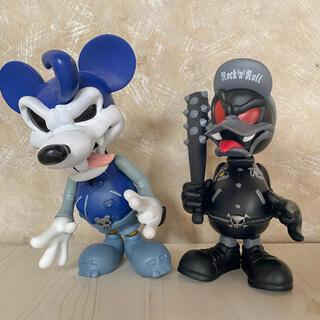 ディズニー(Disney)の★Disney★ミッキー&ドナルド デビルマウス フィギュア(アメコミ)