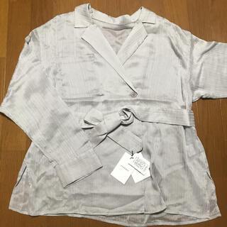ページボーイ(PAGEBOY)のページボーイ シアーカシュクールシャツ(シャツ/ブラウス(長袖/七分))