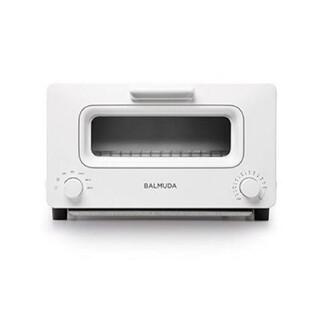 バルミューダ(BALMUDA)のBALMUDA バルミューダ スチームトースター 白 ホワイト K01E-WS(調理機器)