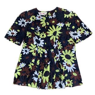 マルニ(Marni)のMARNI  トップス size36(シャツ/ブラウス(半袖/袖なし))
