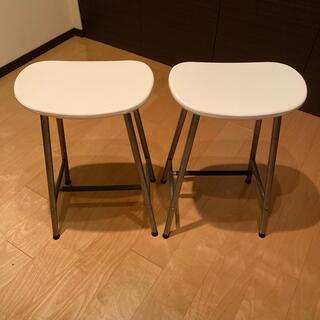 イケア(IKEA)のIKEA カウンターチェア 2脚セット(ダイニングチェア)
