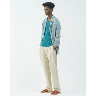 UNUSED - mando 20ss カバーオール チェックシャツ シャツジャケット