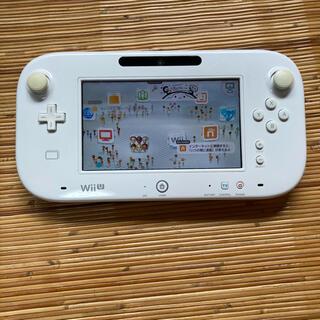 ウィーユー(Wii U)の任天堂 WiiU ゲームパッド(その他)