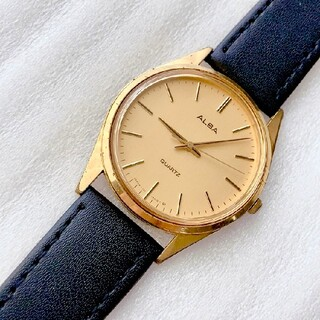 アルバ(ALBA)のALBA メンズクォーツ腕時計 稼動品 ベルト未使用(腕時計(アナログ))