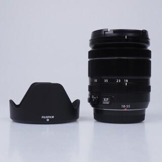 フジフイルム(富士フイルム)の【新品未使用】 XF 18-55mm f/2.8-4 R LM OIS(レンズ(ズーム))