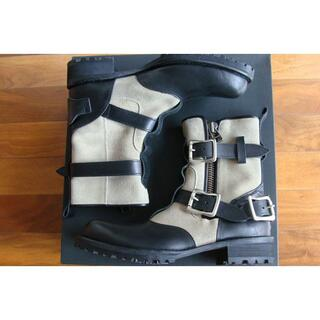 ヨウジヤマモト(Yohji Yamamoto)のY's ワイズ 山本耀司 ヨウジヤマモト ベルト バックル ブーツ ハーフブーツ(ブーツ)