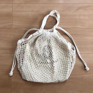 サマンサモスモス(SM2)のSamansa Mos2 * 巾着付きメッシュバッグ(トートバッグ)