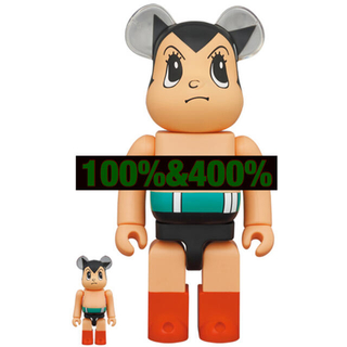 メディコムトイ(MEDICOM TOY)のBE@RBRICK 鉄腕アトム Brave Ver100%&400%(アニメ/ゲーム)