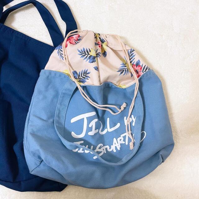 PAUL & JOE(ポールアンドジョー)のハンドバッグ エコバッグ セット 裏地まで可愛い レディースのバッグ(エコバッグ)の商品写真