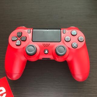 プレイステーション4(PlayStation4)の【ジャンク品】PS4コントローラー(赤)バラバラのps4コントローラー(白)(ゲーム)