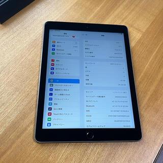 アイパッド(iPad)の美品★iPad Air2 32GB WiFi+Cellular★(タブレット)