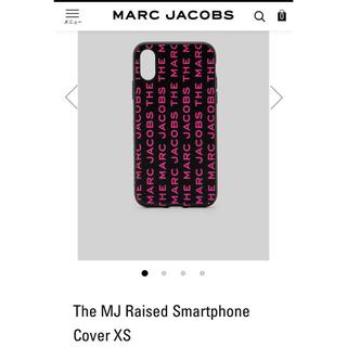 マークジェイコブス(MARC JACOBS)の新品 マークジェイコブスiPhoneケース(iPhoneケース)
