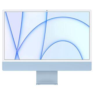 アップル(Apple)のiMac 24インチ 2021モデル M1 ブルー 新品未開封(デスクトップ型PC)