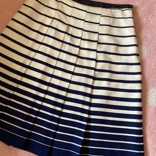 オフオン(OFUON)のオフオン 膝丈スカート/プリーツスカート(ひざ丈スカート)