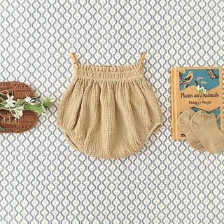 Caramel baby&child  - soor ploom 21ss Lottie Bloomer Chai 4y